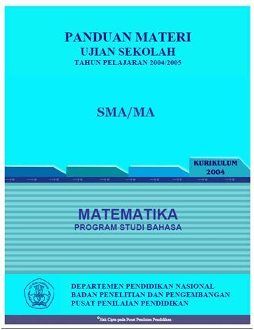 Panduan Materi Uas Sma Matematika Bahasa 171 Blogmatematikaku