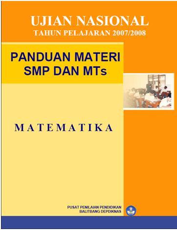 Panduan Materi Ujian Nasional Smp Matematika 171 Blogmatematikaku