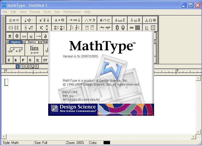 Mathtype Download Design Science